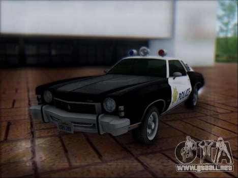Chevrolet Monte Carlo 1973 Police para GTA San Andreas