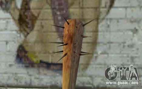 Nail Bat from Beta Version para GTA San Andreas segunda pantalla