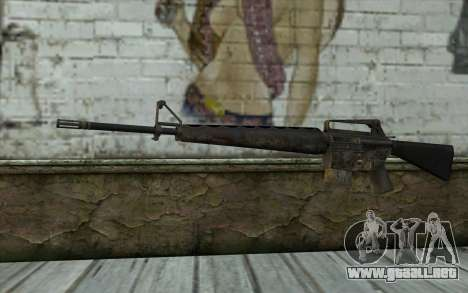 M16A1 from Battlefield: Vietnam para GTA San Andreas