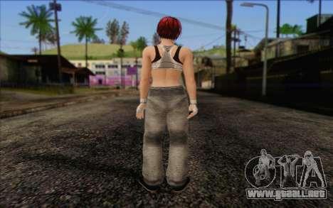 Mila 2Wave from Dead or Alive v11 para GTA San Andreas segunda pantalla