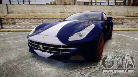 Ferrari FF 2012 Pininfarina Blue para GTA 4