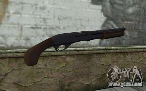 Remington 870 v2 para GTA San Andreas segunda pantalla