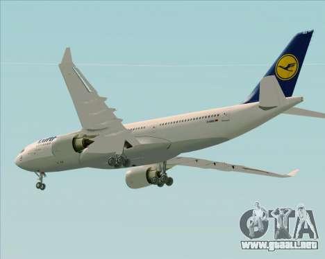 Airbus A330-200 Lufthansa para el motor de GTA San Andreas