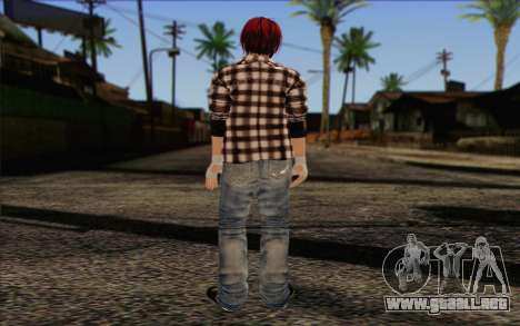 Mila 2Wave from Dead or Alive v10 para GTA San Andreas segunda pantalla