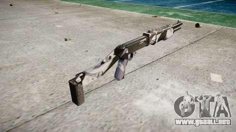Ружье Franchi SPAS-12 Siberia para GTA 4 segundos de pantalla