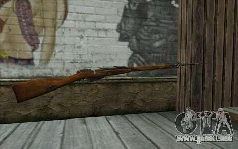 Mosin-v13 para GTA San Andreas segunda pantalla