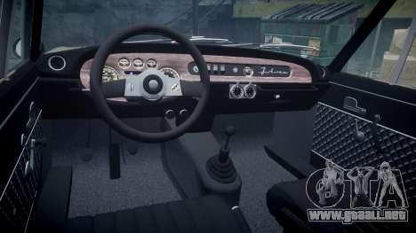 Lancia Fulvia HF (Camber) para GTA 4 vista hacia atrás