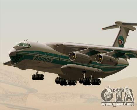 IL-76TD ALROSA para visión interna GTA San Andreas