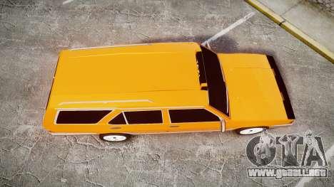 Tofas Kartal SLX Taxi para GTA 4 visión correcta