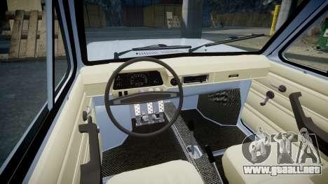 ZAZ-968 para GTA 4 vista interior