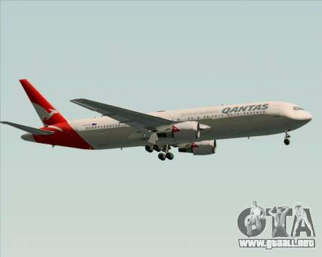 Boeing 767-300ER Qantas (New Colors) para la vista superior GTA San Andreas