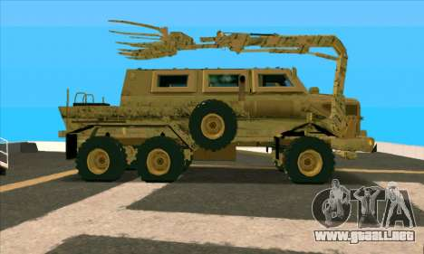 Bonecrusher Transformers 2 para GTA San Andreas left