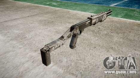 Ружье Franchi SPAS-12 Ghotex para GTA 4 segundos de pantalla