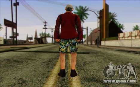 Miembro del pelotón de IA Piel de 1 para GTA San Andreas segunda pantalla