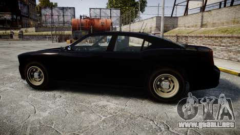 GTA V Bravado FIB Buffalo [ELS] para GTA 4 left