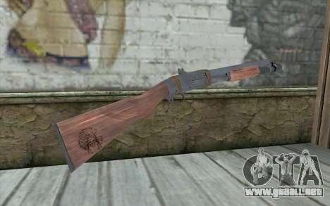 Shotgun from Primal Carnage v2 para GTA San Andreas segunda pantalla