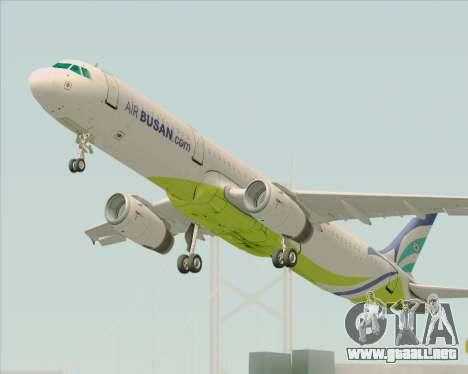 Airbus A321-200 Air Busan para GTA San Andreas
