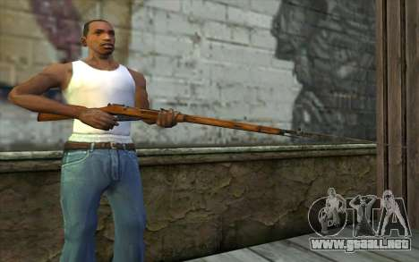 Mosin-v13 para GTA San Andreas tercera pantalla