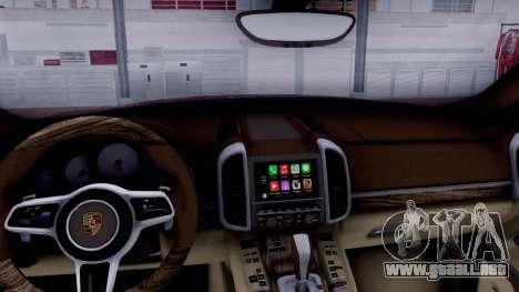 Porsche Cayenne 2015 para la visión correcta GTA San Andreas