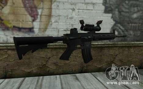 HK416 (Bump mapping) v2 para GTA San Andreas segunda pantalla