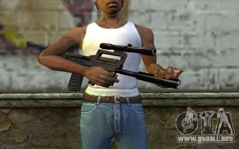 Гроза de la Mitad de la Vida de la Paranoia para GTA San Andreas tercera pantalla