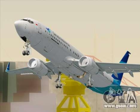 Boeing 737-800 Garuda Indonesia para GTA San Andreas