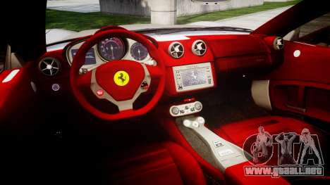 Ferrari California [EPM] para GTA 4 vista interior