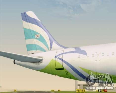 Airbus A321-200 Air Busan para el motor de GTA San Andreas
