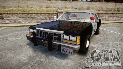 Ford LTD Crown Victoria 1987 Police CHP2 [ELS] para GTA 4