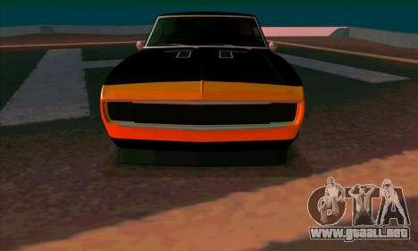 Chevrolet Camaro SS 1967 (Bumblebee) para GTA San Andreas left