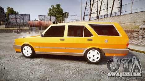 Tofas Kartal SLX Taxi para GTA 4 left