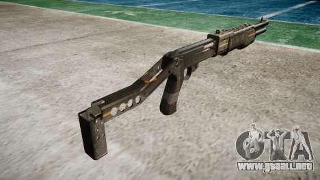 Ружье Franchi SPAS-12 CE Digital para GTA 4 segundos de pantalla