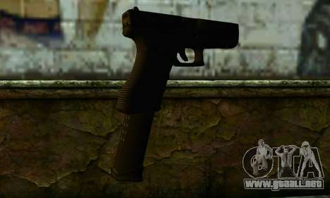 Glock 18 from Medal of Honor: Warfighter para GTA San Andreas segunda pantalla