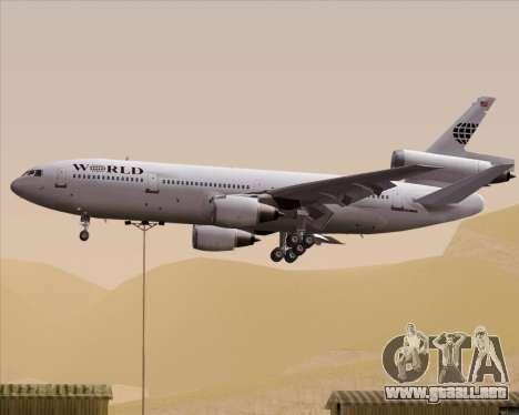 McDonnell Douglas DC-10-30 World Airways para GTA San Andreas