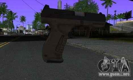 Walther P99 Bump Mapping v2 para GTA San Andreas segunda pantalla