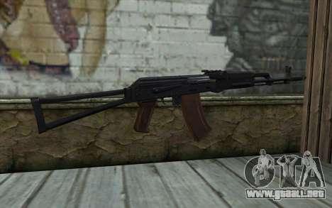 AKS-74 para GTA San Andreas segunda pantalla