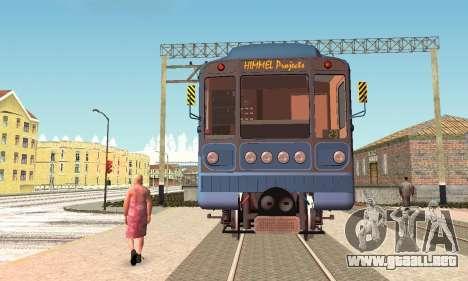 Metrophage tipo 81-717 para GTA San Andreas left