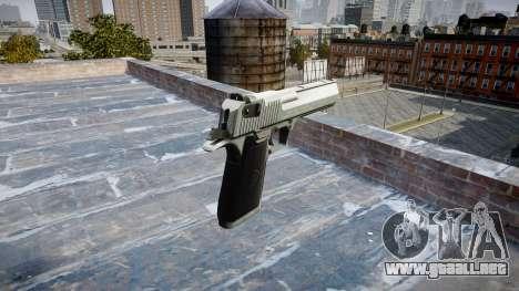 Пистолет IMI Desert Eagle Mc XIX Chrome para GTA 4 segundos de pantalla