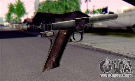 Silenced Pistol from Death to Spies 3 para GTA San Andreas segunda pantalla