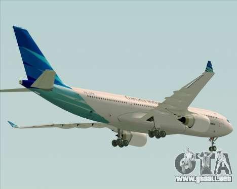 Airbus A330-243 Garuda Indonesia para el motor de GTA San Andreas