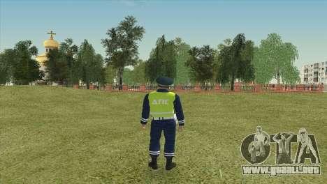 Sub-inspector de DPS para GTA San Andreas segunda pantalla