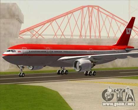 Airbus A330-200 LTU International para GTA San Andreas left