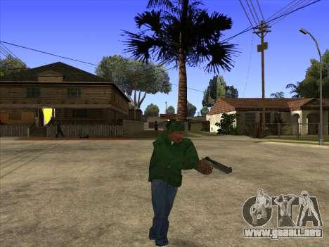 Cleo Walk Style para GTA San Andreas tercera pantalla
