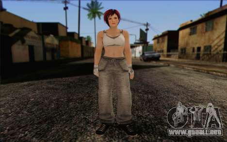Mila 2Wave from Dead or Alive v11 para GTA San Andreas