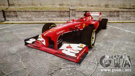 Ferrari F138 v2.0 [RIV] Alonso TSD para GTA 4