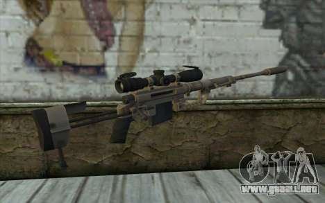 Rifle De Francotirador Cheytac M200 Intervention para GTA San Andreas segunda pantalla