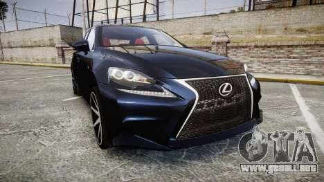 Lexus IS 350 F-Sport 2014 Rims2 para GTA 4