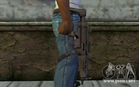 MP5 from FarCry 3 para GTA San Andreas tercera pantalla