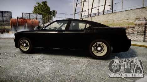 GTA V Bravado Buffalo Unmarked [ELS] Slicktop para GTA 4 left