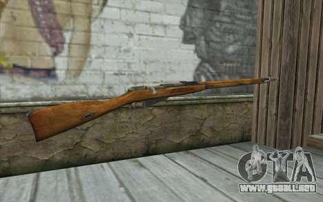 Mosin-v5 para GTA San Andreas segunda pantalla